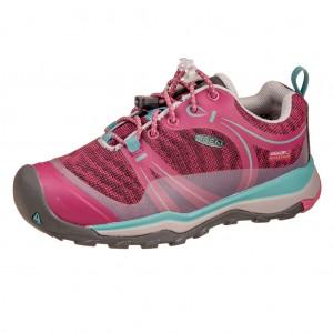 Dětská obuv KEEN Terradora LOW WP  /boysenberry/red violet - Boty a dětská obuv