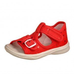 Dětská obuv Domácí sandálky Superfit 4-00292-50 -  Sandály