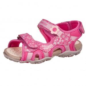 Dětská obuv GEOX J S.Roxane  /fuchsia - Boty a dětská obuv