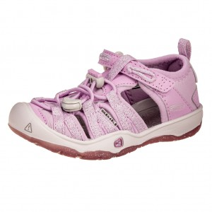 Dětská obuv KEEN Moxie sandal   lupine/vapor - Boty a dětská obuv