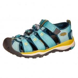 Dětská obuv KEEN Newport Neo H2 /aqua see/legion blue - Boty a dětská obuv