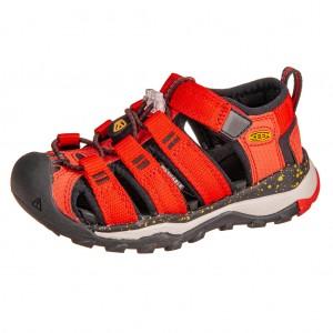 Dětská obuv KEEN Newport Neo H2 /fiery red/golden rod - Boty a dětská obuv