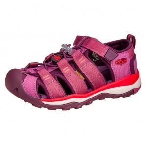 Dětská obuv KEEN Newport Neo H2 /red violet/grape wine - Boty a dětská obuv