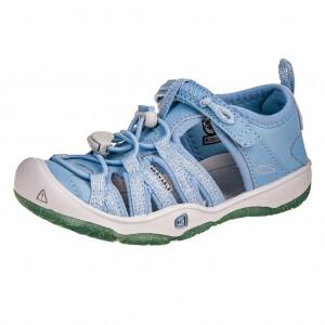 Dětská obuv KEEN Moxie sandal   powder blue/vapor - Boty a dětská obuv