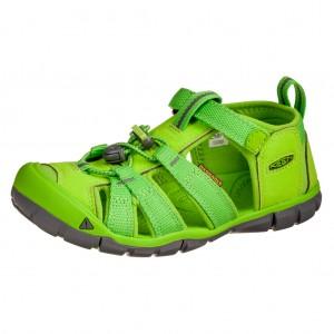 Dětská obuv KEEN Seacamp   /vibrant green -  Sandály