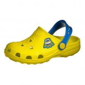Dětská obuv Coqui   /lime/royal -  Sandály