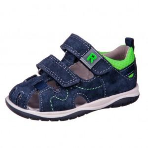 Dětská obuv Sandálky Richter 2603  /atlantic/neon green - Boty a dětská obuv