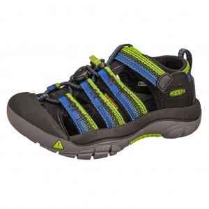 Dětská obuv KEEN Newport H2 /racer black -  Sandály
