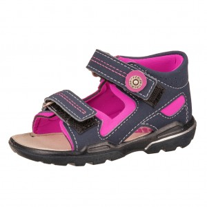 Dětská obuv Ricosta Manti  /nautic/neonpink  *BF WMS M -  Sandály