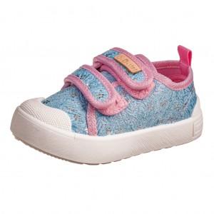 Dětská obuv D.D.Step plátěnky sky blue -  Celoroční