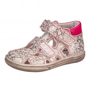 Dětská obuv Boots4U sandály silver rose  *BF -  Sandály