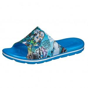 Dětská obuv Coqui pantofle   sea blue -  Sandály