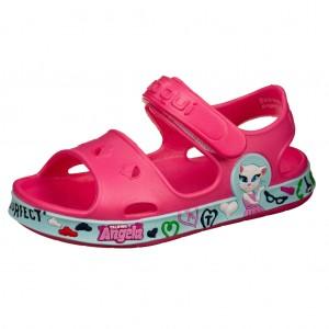 Dětská obuv Coqui sandálky Fobee /fuchsia/mint - Boty a dětská obuv