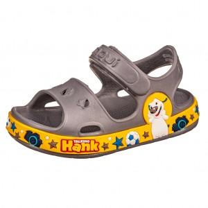 Dětská obuv Coqui sandálky Fobee /grey/yellow - Boty a dětská obuv