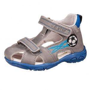 Dětská obuv D.D.Step AC290-7024 Dark Grey -  Sandály