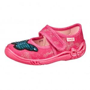 Dětská obuv Domácí obuv Superfit 5-00288-55 -  Na doma a do škol(k)y
