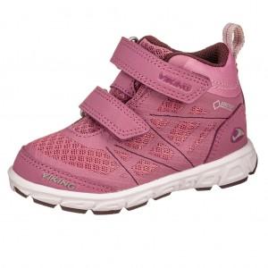 Dětská obuv VIKING VEME MID GTX   dark pink/violet -