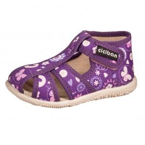 Dětská obuv Domácí obuv Ciciban ALEXA -  Na doma a do škol(k)y
