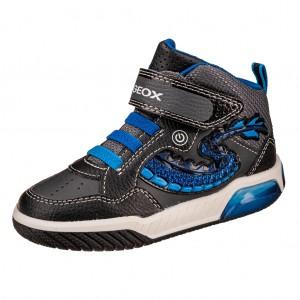 Dětská obuv GEOX J Inek B  /black/royal - Boty a dětská obuv
