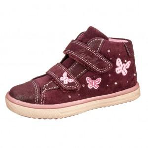 Dětská obuv Lurchi Maggie  /burgundy - Boty a dětská obuv