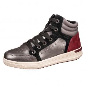 Dětská obuv GEOX J Aveup G.   /dk.grey - Boty a dětská obuv