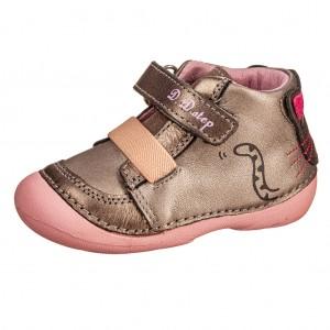 Dětská obuv D.D.Step  015-185E  Champagne  *BF -  Celoroční