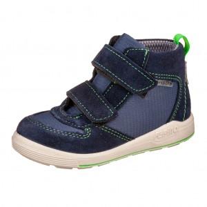 Dětská obuv Ricosta RORY  /nautic/neongrün   WMS W - Boty a dětská obuv