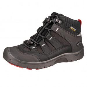 Dětská obuv KEEN Hikeport MID WP  /back/bright red -  Celoroční