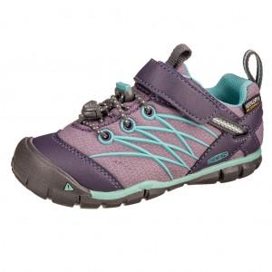 Dětská obuv KEEN Chandler WP  /montana grape/aqua haze -  Celoroční