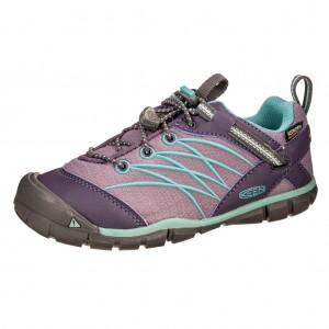 Dětská obuv KEEN Chandler WP  /montana grape/aqua haze -  Sportovní