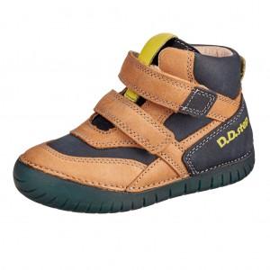 Dětská obuv D.D.Step  050-6AM Chocolate -  Celoroční