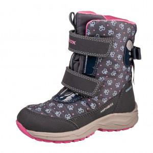 Dětská obuv GEOX J Kuray G  /navy -  Zimní