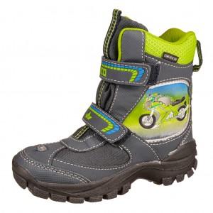 Dětská obuv LICO Motorcycle V blinky  /marine/lemon - Boty a dětská obuv
