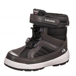 Dětská obuv VIKING Playtime GTX   /charcoal/blk -  Zimní