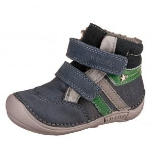 Dětská obuv D.D.Step 018-41 Royal Blue BF -  Zimní