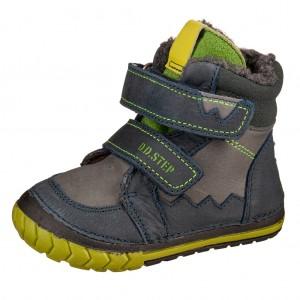 Dětská obuv D.D.Step  029-307  Royal Blue -  Zimní