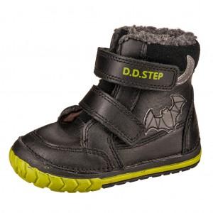 Dětská obuv D.D.Step  029-308A  Black -  Zimní