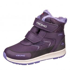 Dětská obuv VIKING ELLA GTX   /aubergine/purple -  Zimní