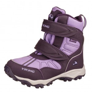 Dětská obuv VIKING Bluster II GTX   /aubergine/purple -  Zimní