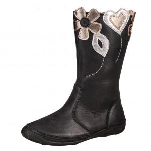 Dětská obuv D.D.Step  046-614L   black -  Zimní
