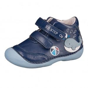 Dětská obuv D.D.Step  015-198  Royal Blue *BF -  Celoroční