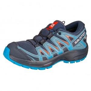 Dětská obuv Salomon XA Pro 3D CSWP J  /navy blazer - Boty a dětská obuv