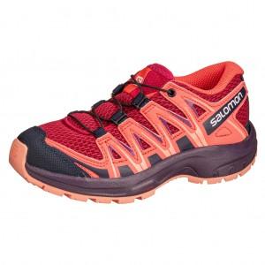 Dětská obuv Salomon XA Pro 3D J  /peach amber - Boty a dětská obuv