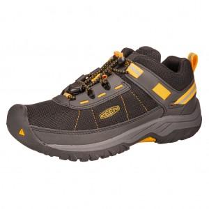 Dětská obuv KEEN Targhee Sport /black/keen yellow -  Celoroční