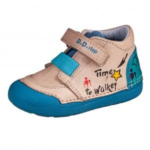 Dětská obuv D.D.Step  066-739B Light Grey *BF -  Celoroční