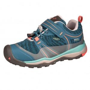 Dětská obuv KEEN Terradora LOW WP  /aquq sea/coral -  Sportovní
