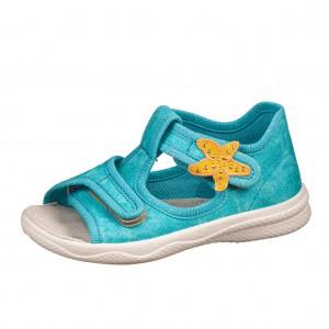 Dětská obuv Domácí sandálky Superfit 6-00293-71 -  První krůčky