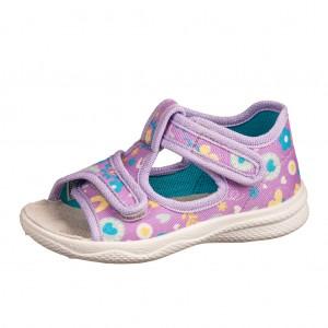 Dětská obuv Domácí sandálky Superfit 6-00293-90 - Boty a dětská obuv
