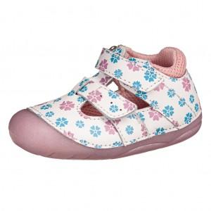 Dětská obuv Lurchi Fioli  /white flower  *BF -  První krůčky
