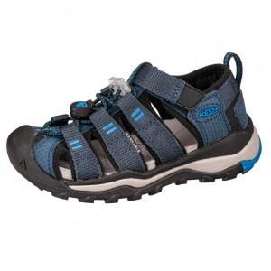 Dětská obuv KEEN Newport Neo H2 /blue nights/brilliant blue - Boty a dětská obuv